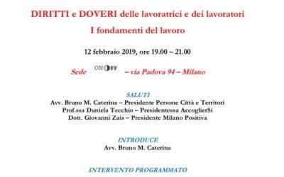 Milano Positiva, diritti e doveri dei lavoratori
