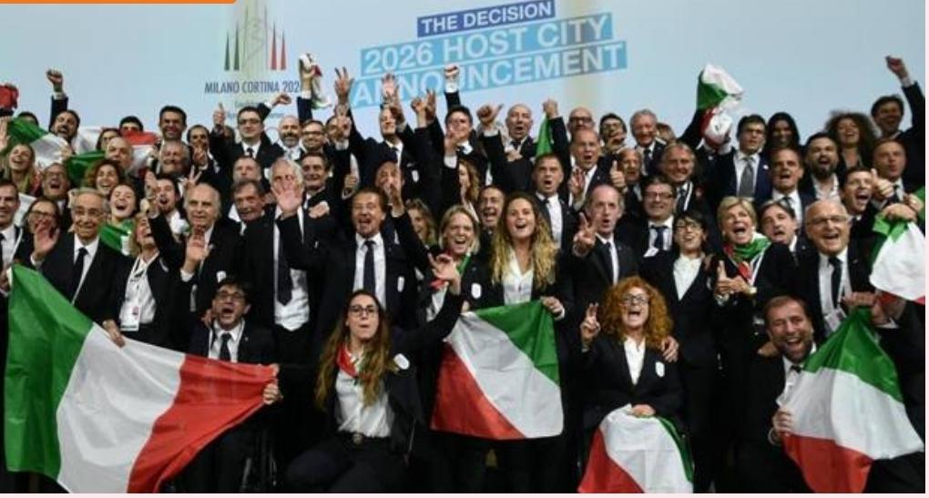 2026, a Milano le Olimpiadi: ce l'abbiamo fatta