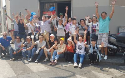 Milano Positiva, operazione muri puliti in via Padova