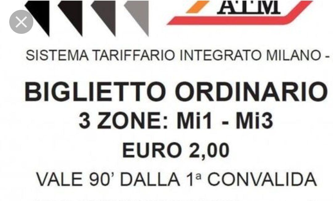 Milano Positiva, biglietto a due Euro per il trasporto pubblico