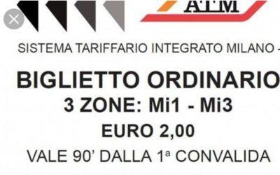 Biglietto a due Euro per il trasporto pubblico